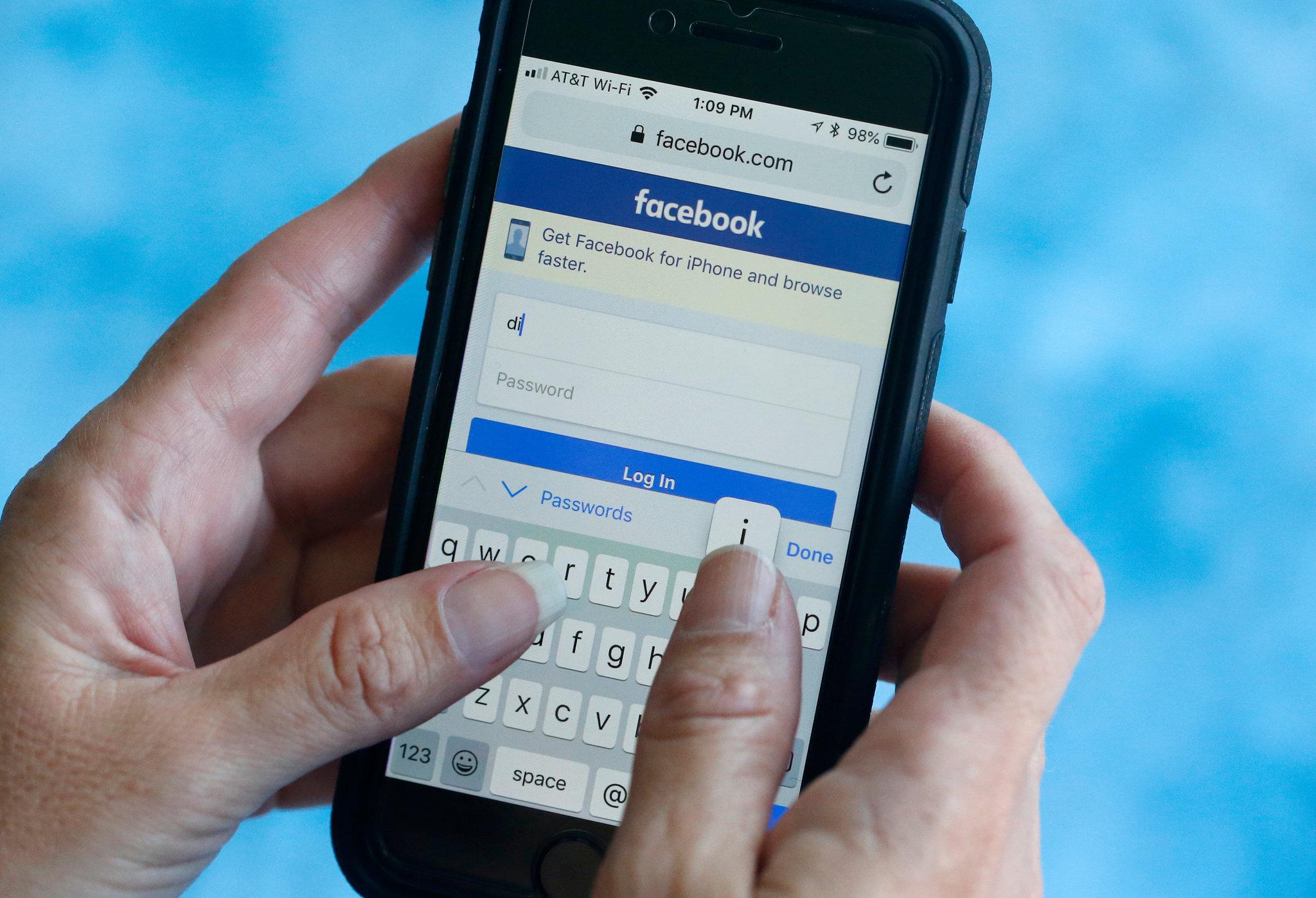 crack the Facebook account